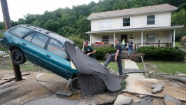 More Rain on Tap for Flood-Ravaged W. Va.