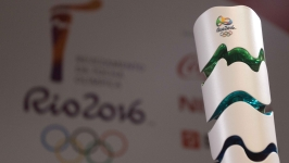 PHOTO: 2016 Olympic Torch Unveiled