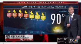 Loma Prieta Fire & Jeff's Forecast