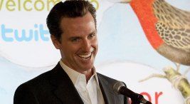 Gavin Newsom Raising Money on Twitter