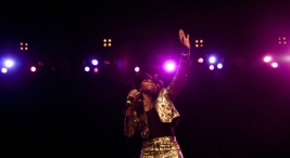 Santigold Paints the City Gold