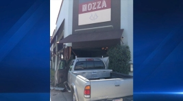 Pickup Truck Crashes Into Mario Batali's Restaurant