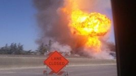 11 Injured in Gas Line Explosion Near Fresno