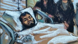 Subway Bomb Suspect Makes 1st Court Appearance From Hospital Bed