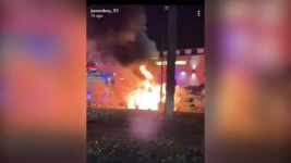 Video Shows Car Engulfed in Flames in NJ; Police Find Body Inside