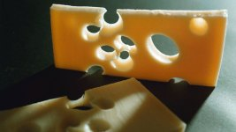 Holes in Swiss Cheese on The Decline