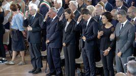 Italian President Visits Quake Town; Death Toll Rises