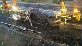 Italy Bus Crash Kills 16 People Returning From School Trip