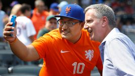 NYC Mayor Goes to All 3 Mets Games — to Root for Red Sox
