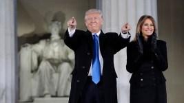 Melania Trump's Hometown in Slovenia Celebrates Inauguration