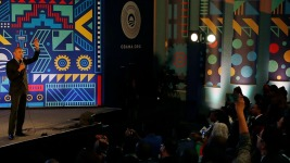 South Africa, Obama Mark Mandela Centennial With Charity