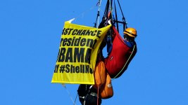 #ShellNo Protesters Removed, Drilling Ship Clears Bridge