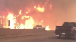 Wildfire Causes Entire Canadian City to Evacuate