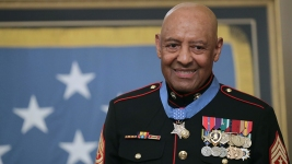 Retired Marine Receives Medal of Honor for Vietnam Actions