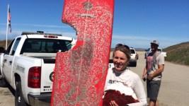 Surfer Uninjured After Shark Bites Her Board off Calif.