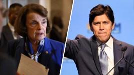 In Snub to Feinstein, California Democratic Party Endorses De Leon
