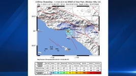 Early Morning Earthquake Rattles Los Angeles Area