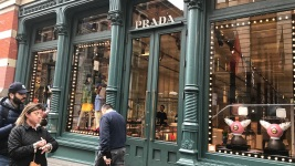 Prada Pulls Figurines from NYC Store Amid Blackface Outcry