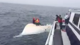 2 Saved, 1 Recovered From Capsized Boat in Daring Rescue
