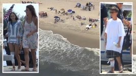 2 Kids Bitten in NY Shark Attacks; Tooth Sticks in Boy's Leg