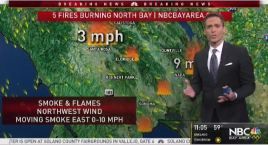 Jeff's Forecast: New Red Flag Fire Warning