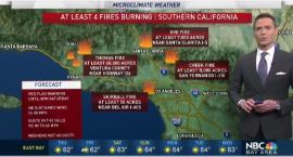 Jeff's Forecast: SoCal Fires & Dry Bay Area