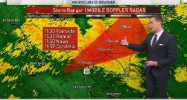 Jeff's Forecast: Heavy AM Rain & Flash Flood Watch