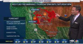 Jeff's Forecast: New Fire Warning & Smoke Update