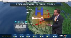 Jeff's Forecast: Chilly AM and Rain Update