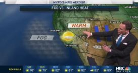 Jeff's Weekend Forecast: Fog vs. Inland Heat