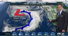 Jeff's Forecast: Dry Thursday and Friday Storm