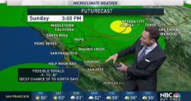 Jeff's Forecast: Breezy & Weekend Rain Chance