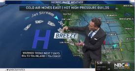 Jeff's Forecast:  Warming Weekend & Fire Danger