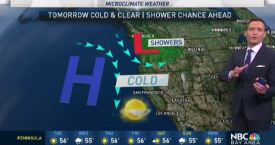 Jeff's Forecast: Cold 30s and Next Shower Chance