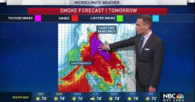 Jeff's Forecast: Unhealthy Smoky Air