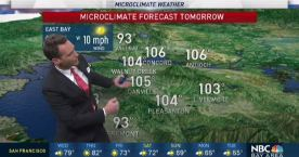Jeff's Forecast: Hot 106 to Cool 67