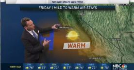 Jeff's Forecast: Warmer Friday