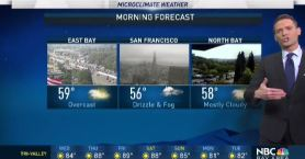 Jeff's Forecast:  Warming Inland