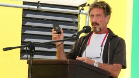 On The Run, John McAfee Blogs