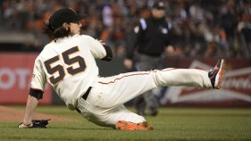 Lincecum Laughs Off Mistakes