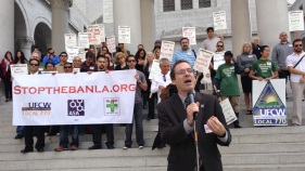 US Attny in SF Faced With Marijuana Protesters