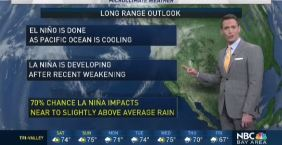 Jeff's Forecast: Cooler, Rain Soon & La Niña Update