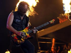 Metallica's Hammett Hosts Horror and Music Festival