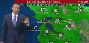 Bay Area Rain Possible by Friday.