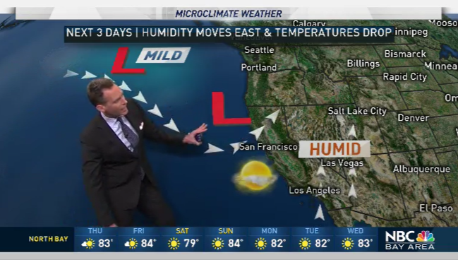 Jeff's Forecast: Less Humidity and Cooling Ahead