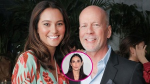 Demi Moore Attends Ex-Husband Bruce Willis' Vow Renewal