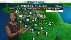 <p>NBC Bay Area Meteorologist Kari Hall previews how long rain will stick around.</p>