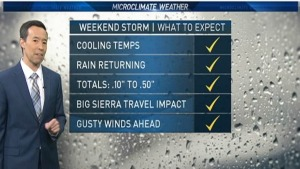 <p>NBC Bay Area Meteorologist tracks warming and sunshine that will grace the Bay Area for several days.</p>