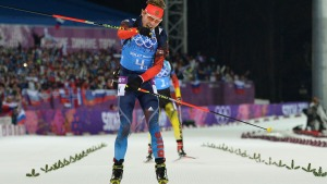 Russia Wins Men's Relay for 1st Biathlon Gold