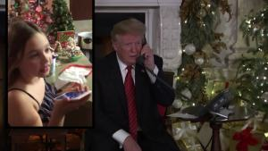 'Marginal': 7-Year-Old Talks to Trump on Christmas Eve